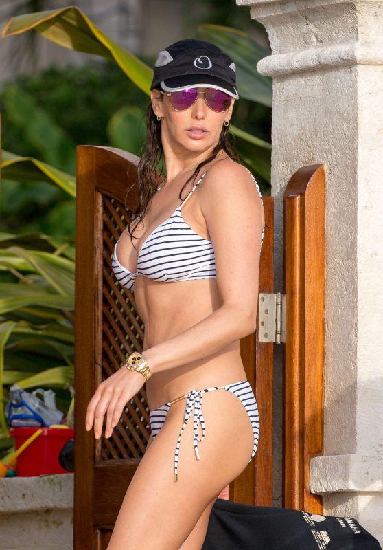 Lauren Silverman Bikini Candids - Barbados, December 2015