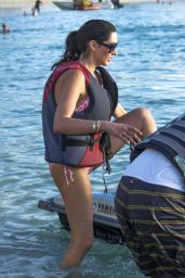 Lauren Silverman in a Bikini - Jet-skiing in Barbados 12/30/2015