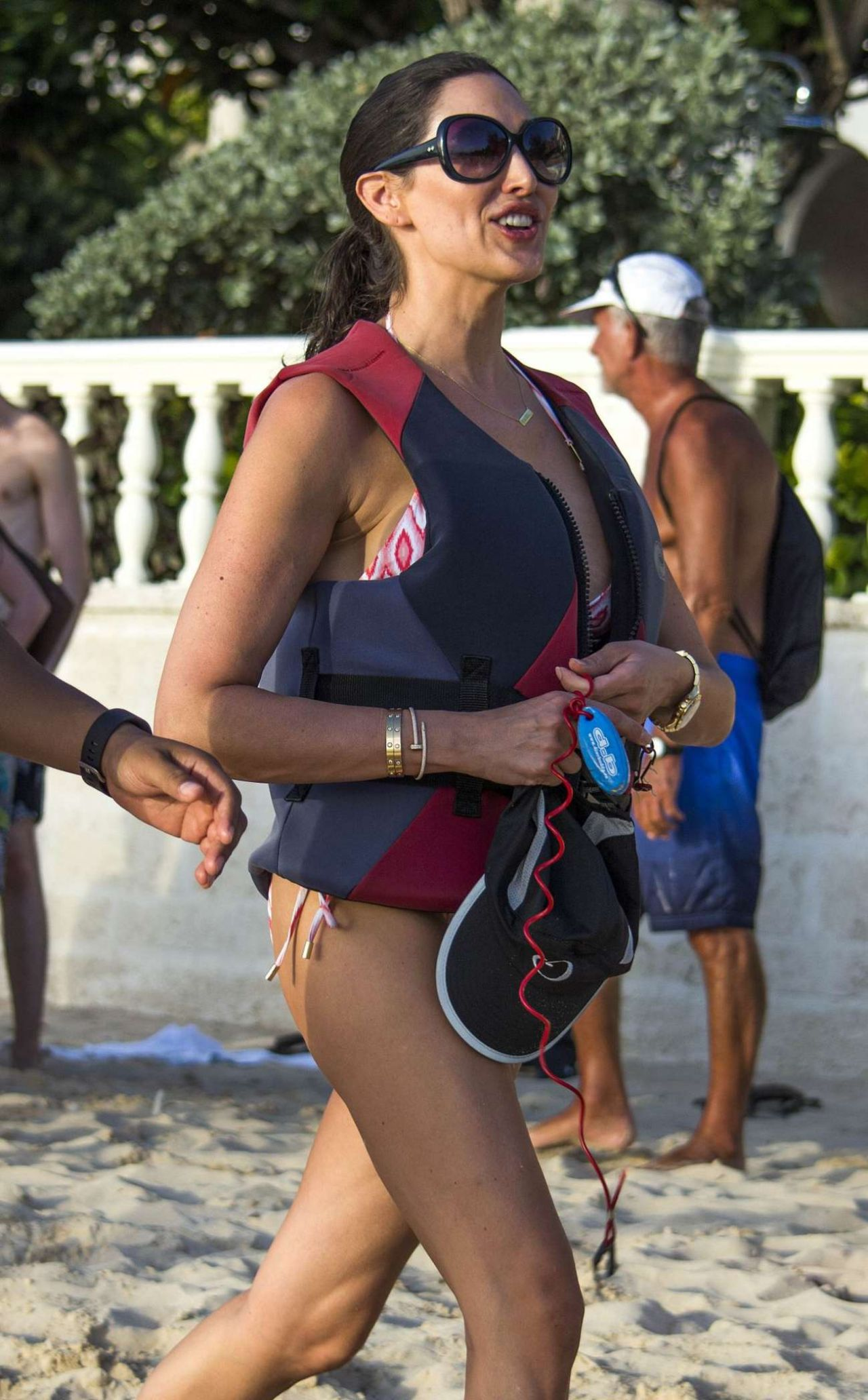 Lauren Silverman in a Bikini – Jet-skiing in Barbados 12/30/2015