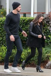 Lea Michele - Out in West Hollywood 12/22/2015