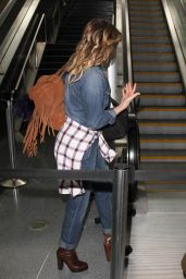 LeAnn Rimes at LAX Airport, December 2015