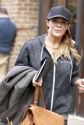 LeAnn Rimes Street Style - Tribeca in NYC, December 2015