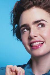 Lily Collins Pics - Lancôme ad Campaign 2015