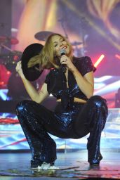 Lindsay Lohan Performs as Special Huest at O2 Arena in London, 12-8-2015