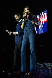 Lisa Snowdon - Jingle Bell Ball 2015 Day Two in London