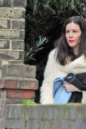 Liv Tyler Street Fashion - Out in London 12/24/2015