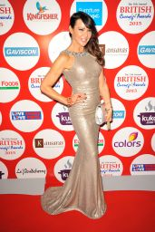 Lizzie Cundy – 2015 British Curry Awards at the Battersea Evolution in London
