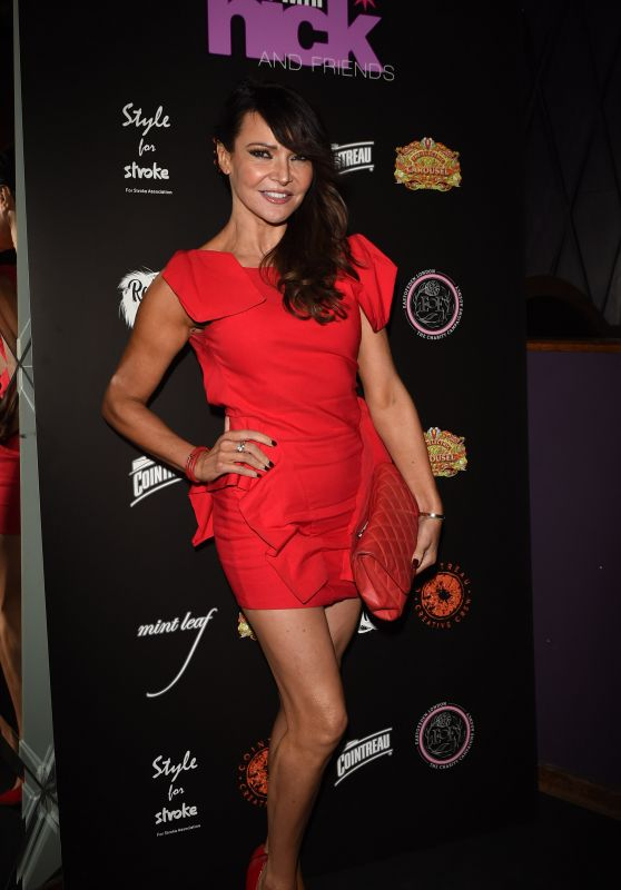 Lizzie Cundy – A Night With Nick Held at Rahrah Room, Piccadilly in London