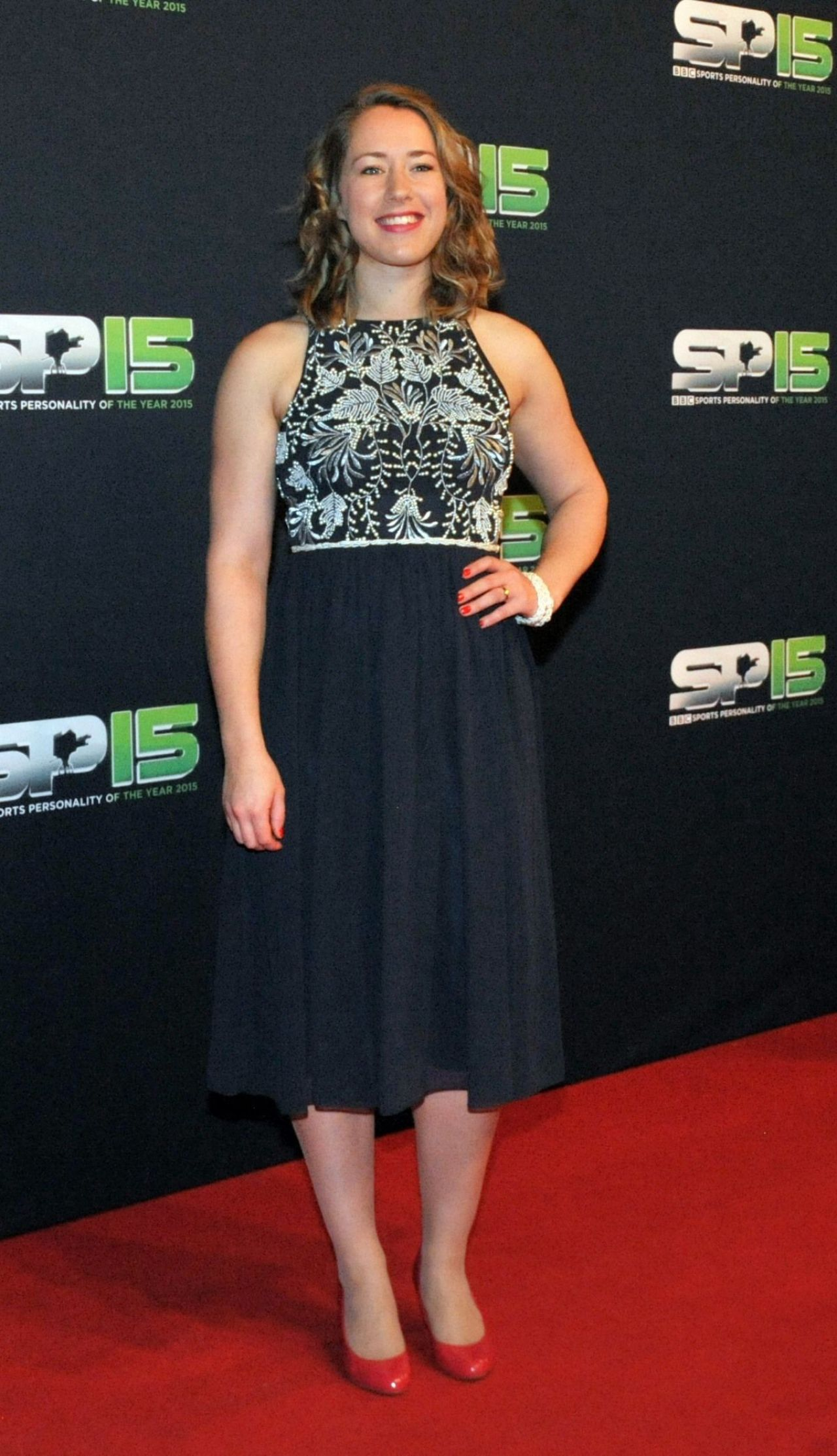 Lizzy Yarnold – 2015 BBC Sports Personality of the Year Award at Odyssey Arena in Belfast, Northern Ireland