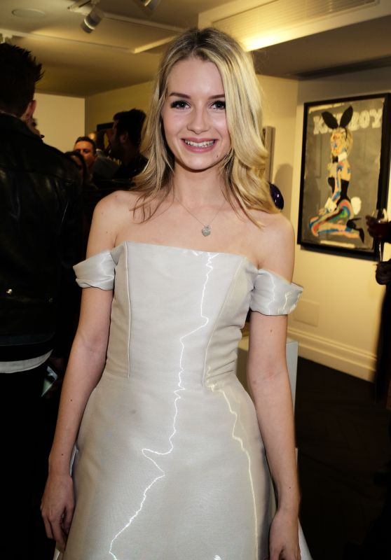 Lottie Moss - Maddox Gallery Opening at the Maddox Gallery Mayfair in London
