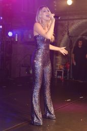 Louisa Johnson - Performs Her First Live Concert at GAY in London 12/19/2015