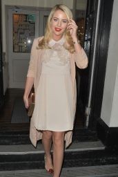 Lydia Bright Night Out Style - at Sugar Hut in Brentwood, Essex, December 2015
