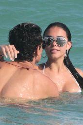 Madison Beer in a Bikini at a Beach in Miami 12/30/2015