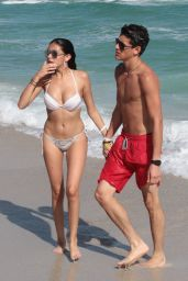Madison Beer in a Bikini at a Beach in Miami 12/30/2015