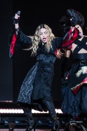 Madonna Performs at the AccorHotels Arena in Paris, December 2015
