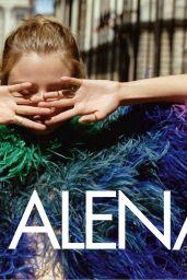 Magdalena Frackowiak - Elle Magazine Italia January 2016 Issue