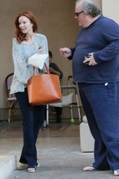 Marcia Cross - Leaves Lunch With a Friend in Los Angeles 12/22/2015