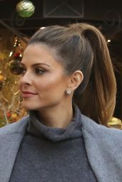 Maria Menounos at Blue Ribbon Sushi Bar & Grill in West Hollywood, December 2015