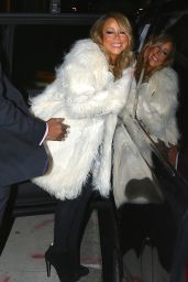 Mariah Carey - Out in New York City, December 2015