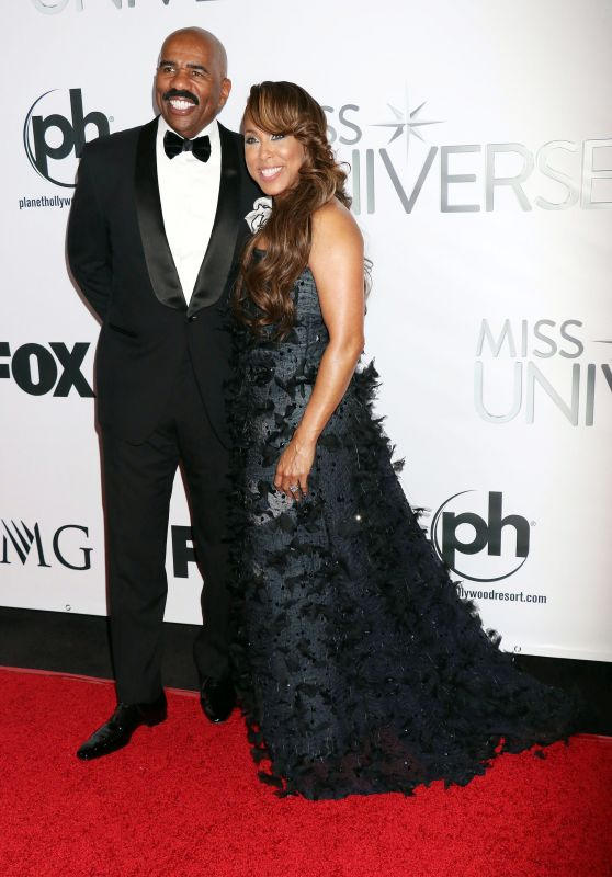 Marjorie Harvey - 2015 Miss Universe Pageant at Planet Hollywood Resort & Casino in Las Vegas