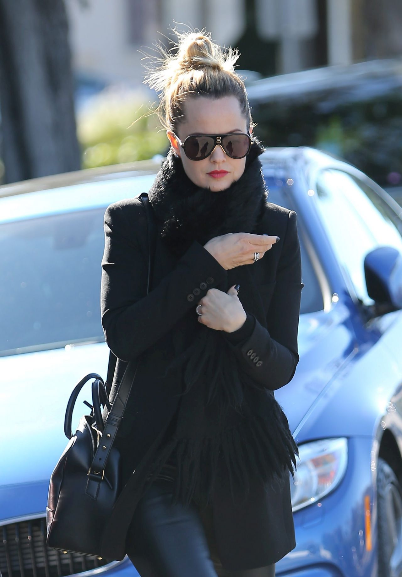 Mena Suvari - Out in LA, December 2015