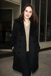 Michelle Dockery - Out in New York City, 12/9/2015
