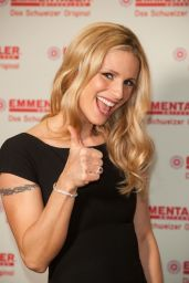 Michelle Hunziker - Photocall to Promote Original Swiss Cheese, Schweizer Emmentaler AOP in Cologne