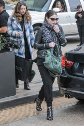 Michelle Trachtenberg Casual Style - Leaving Barney