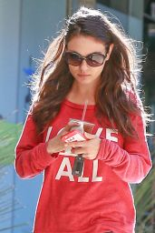 Mila Kunis - Out in Studio City, December 2015