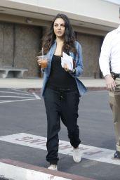 Mila Kunis Street Style - Out in Los Angeles, December 2015