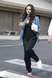 Mila Kunis Street Style - Out in Los Angeles, December 2015
