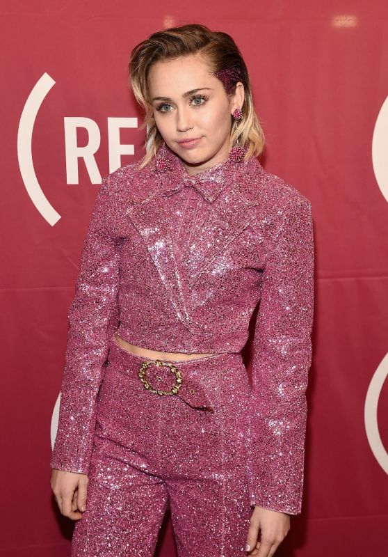 Miley Cyrus - ONE Campaign & (RED)