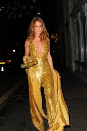 Millie Mackintosh - Arriving at The Sunday Times Style - Christmas Party in London, 12/9/2015