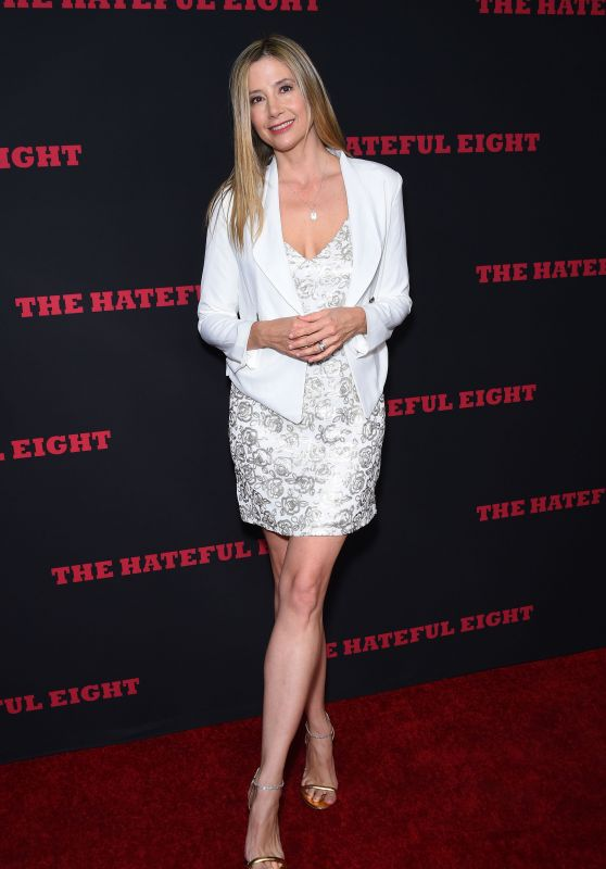 Mira Sorvino – 'The Hateful Eight' Premiere in Los Angeles