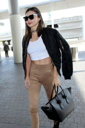 Miranda Kerr at LAX Airport, December 2015