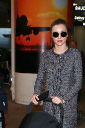 Miranda Kerr at LAX in Los Angeles, December 2015