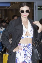 Miranda Kerr Style - at the Incheon International Airport in South Korea 12/10/2015