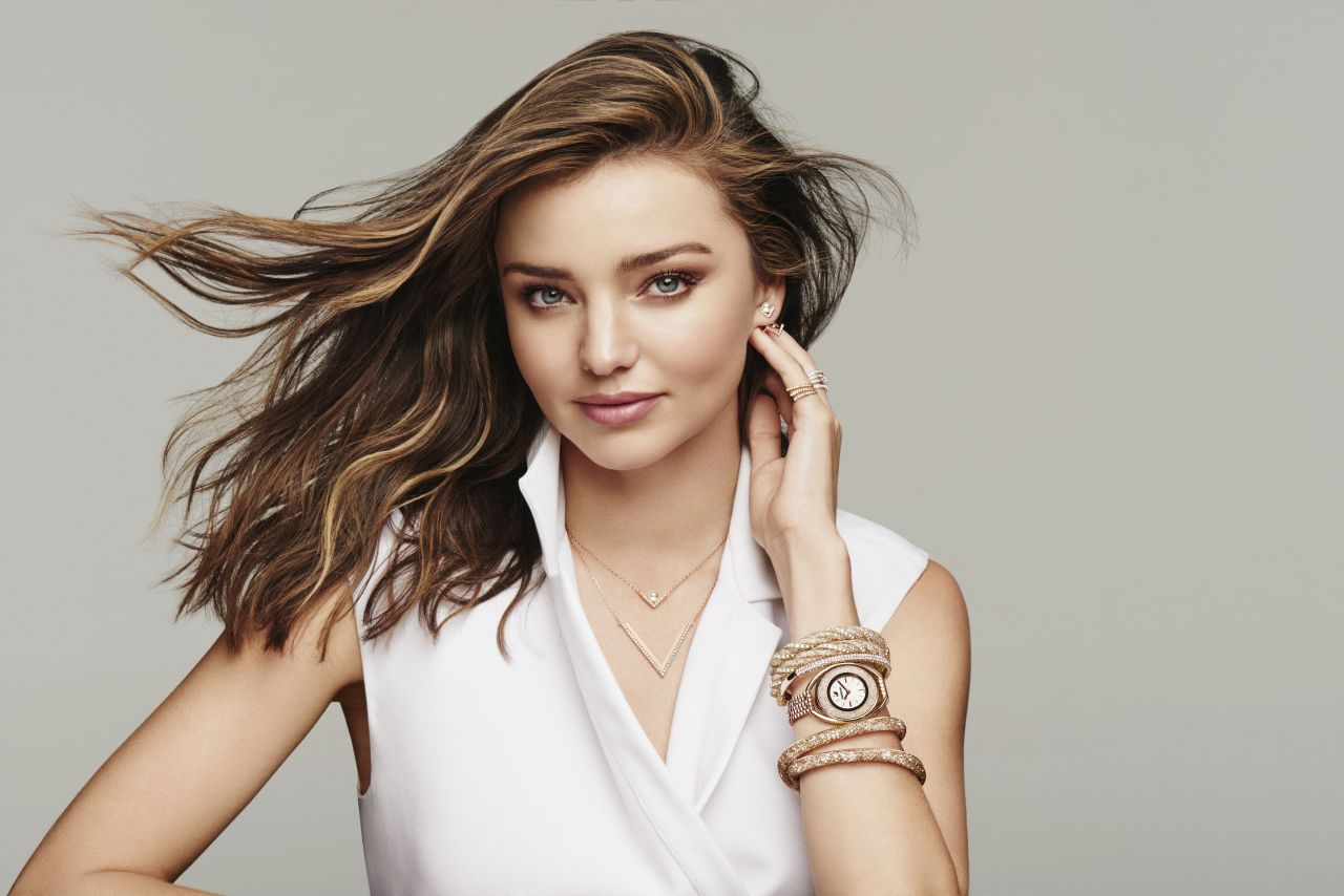 Miranda Kerr Swarovski Spring Summer 2016 Collection