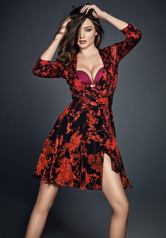 Miranda Kerr - Wonderbra Spring/Summer Campaign 2016
