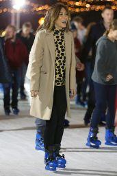 Myleene Klass at Winter Wonderland in London 12/19/2015