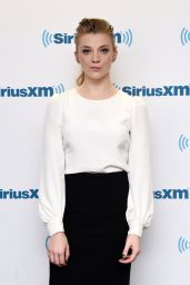 Natalie Dormer at the SiriusXM Studios in New York City, NY, 12/14/2015