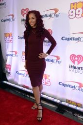 Natalie La Rose – Z100's iHeartRadio Jingle Ball 2015 at Madison Square Garden in New York