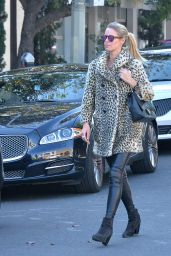 Nicky Hilton Street Fashion - Shopping in West Hollywood 12/29/2015