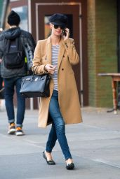 Nicky Hilton Street Style - Out in NYC, December 2015