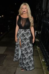 Nicola McLean - Out in London, November 2015