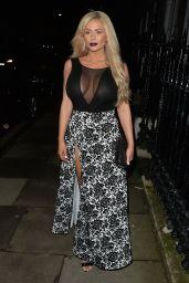 Nicola McLean - Out in London, November 2015