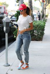 Nicole Scherzinger in Jeans - Out in LA, 12/9/2015