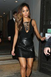 Nicole Scherzinger Night Out Style - Leaving Drama Nightclub in London 12/18/2015