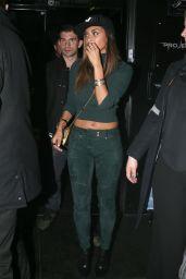 Nicole Scherzinger Night Out Style - Project Nightclub in London, December 2015