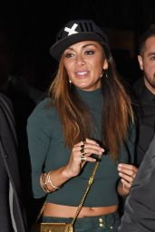 Nicole Scherzinger Night Out Style - Project Nightclub in London, December 2015